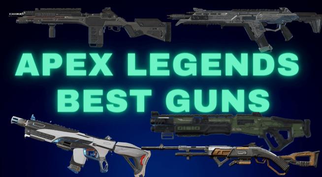 Best Apex Legends GUNS Season 8