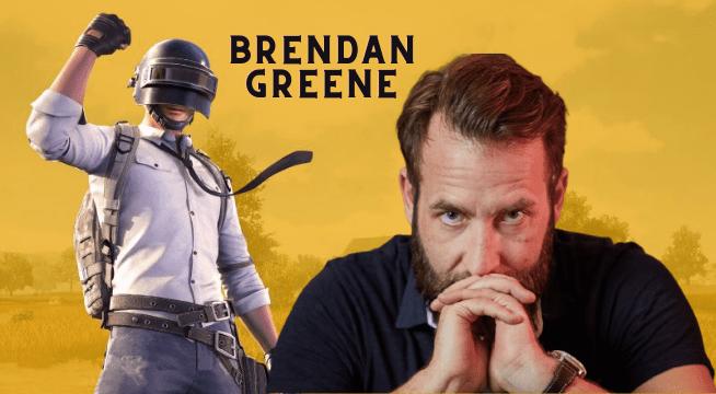 Brendan Greene creator of pubg