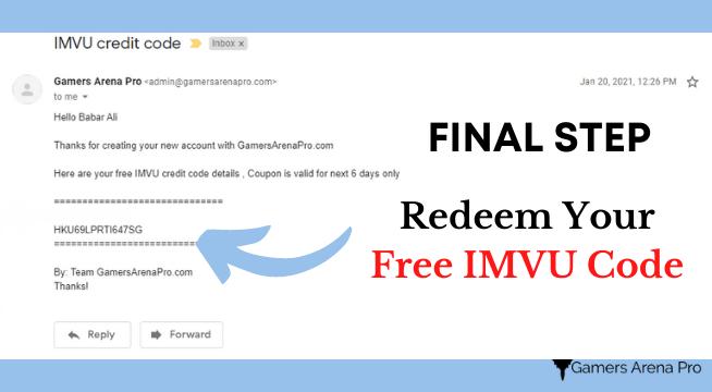 Enjoy Free credits IMVU