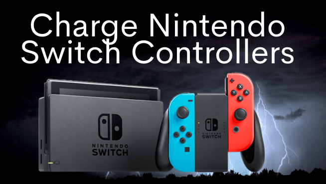 charge Nintendo Switch controllers