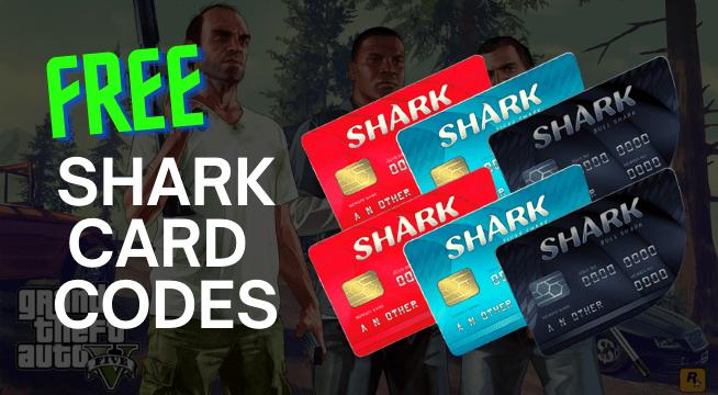 free gta 5 shark card