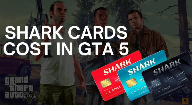 GTA 5 Shark Card Codes