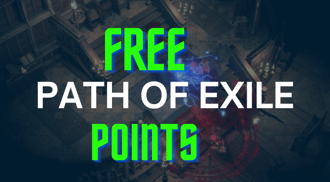 Get Free Path of Exile Points Working Method 2021